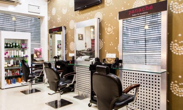 Hair beauty services at panache salon academy malad for Salon panache