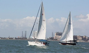 South Coast Sailing Adventures: Three-Hour Intro to Sailing Session for One or Two at South Coast Sailing Adventures in Kemah (Up to $318 Value)