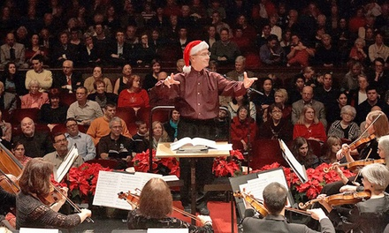 Ann Arbor Symphony Orchestra's Holiday Pops for Two at Hill Auditorium on Friday, December 13 (Up to 54% Off)