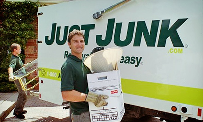 JUSTJUNK - Windsor: $27 for 1/16 of a Truckload Worth of Junk Removal from JUSTJUNK ($69 Value)