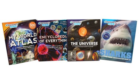 Discovery Kids Encyclopedia Set (4 Books)