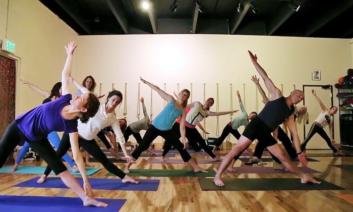 Iyengar Yoga Center of Denver - Washington Park West: $32 for Six-Week Beginner Basics Yoga Package at Iyengar Yoga Center of Denver ($60 Value)