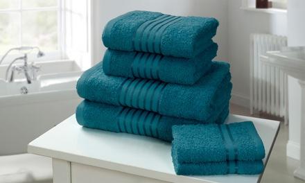 Lot de 6 serviettes 100% coton égyptien