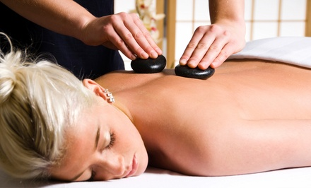 60- or 90-Minute Swedish Massage with Hot Stones at Top Wellness Center (59% Off)
