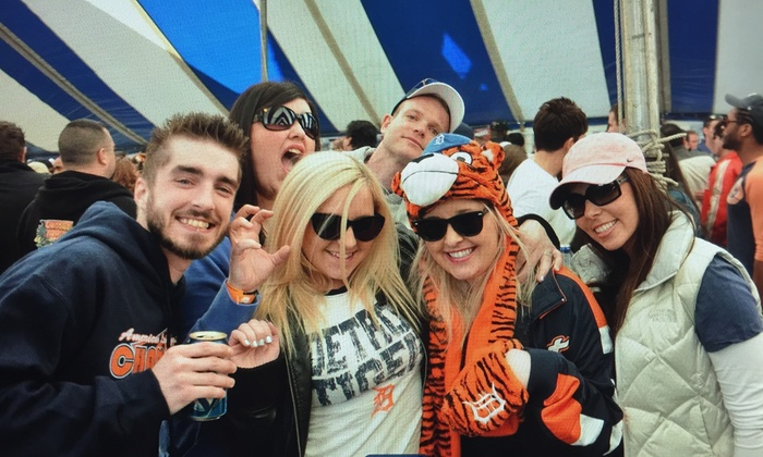 Madison Festival Grounds - Detroit: Admission for Two or Four to Detroit Tigers Opening Day Festival (Up to 48% Off)
