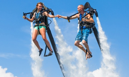 Two-Hour Jetpack Lesson for One or Two with 15 or 25 Minutes of Flying at Jetpack Midwest (Up to 62% Off)