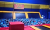 Sky High Sports - Spokane: Two Hours of Jump Time, Dodgeball Court Rental, or 10 Airobics Classes at Sky High Sports (Up to 53% Off)
