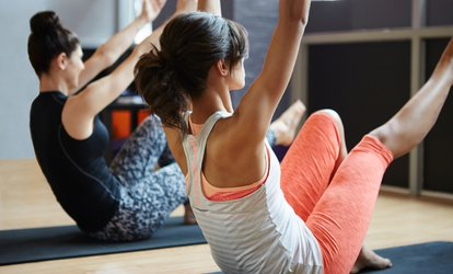 Five- or Ten-Class Pass for Pyro-<strong>Pilates</strong> at Hot Yoga Twinsburg (Up to 78% Off)