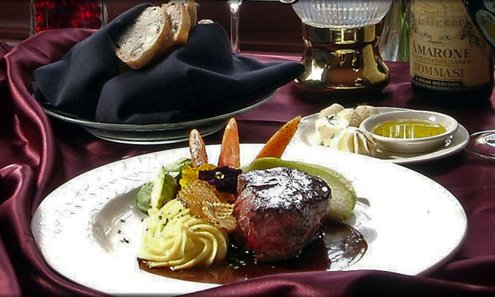 Briarhurst Manor Restaurant - Manitou Springs: Five-Course Upscale Dinner for Two or Four at Briarhurst Manor Restaurant (Up to 36% Off)