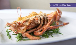 Pescatori: Three-Course Lobster Meal with Prosecco for Up to Four at Pescatori (38% Off)