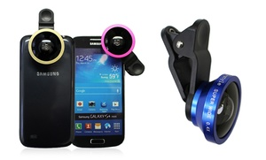 I-style Selfie Universal Camera Lens- Fits Apple Iphone, Samsung Galaxy And Android Devices