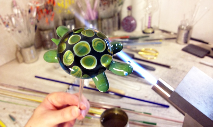 Monadnock Glass Arts - Somerville: Three-Hour Private Introductory Glass Blowing Class for One or Two at Monadnock Glass Arts (55% Off)