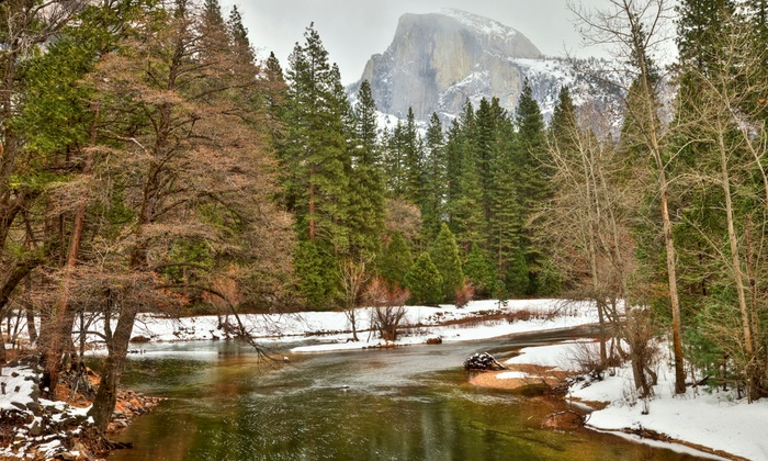 Yosemite View Lodge - El Portal, CA: 2-Night Stay for Two in a River-View Room and Spa-and-Food Package at Yosemite View Lodge near Yosemite National Park