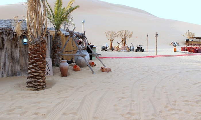 Desert Tours - Desert Tours: Desert Safari Experience from AED 165 with Desert Tours (Up to 55% Off)