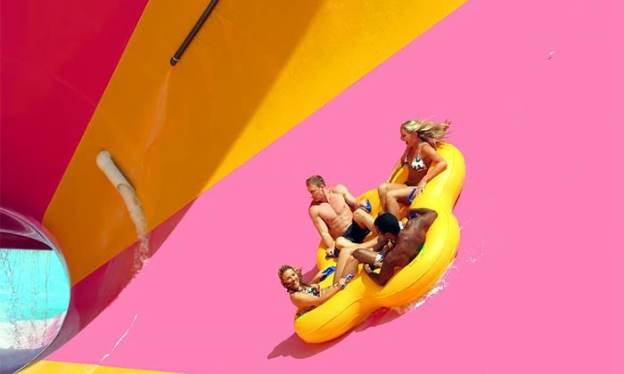 Wet 'n' Wild Palm Springs  - Wet n Wild Palm Springs: $99.99 for a Water-Park Visit for Four with Four Meal Vouchers at Wet 'n' Wild Palm Springs ($195.88 Value)