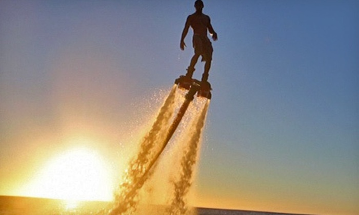AZ Flyboard Rentals - Peoria: 40-Minute Flyboard Flight with Optional DVD and T-Shirt at AZ Flyboard Rentals (40% Off)