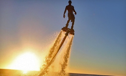 40-Minute Flyboard Flight with Optional DVD and T-Shirt at AZ Flyboard Rentals (40% Off)