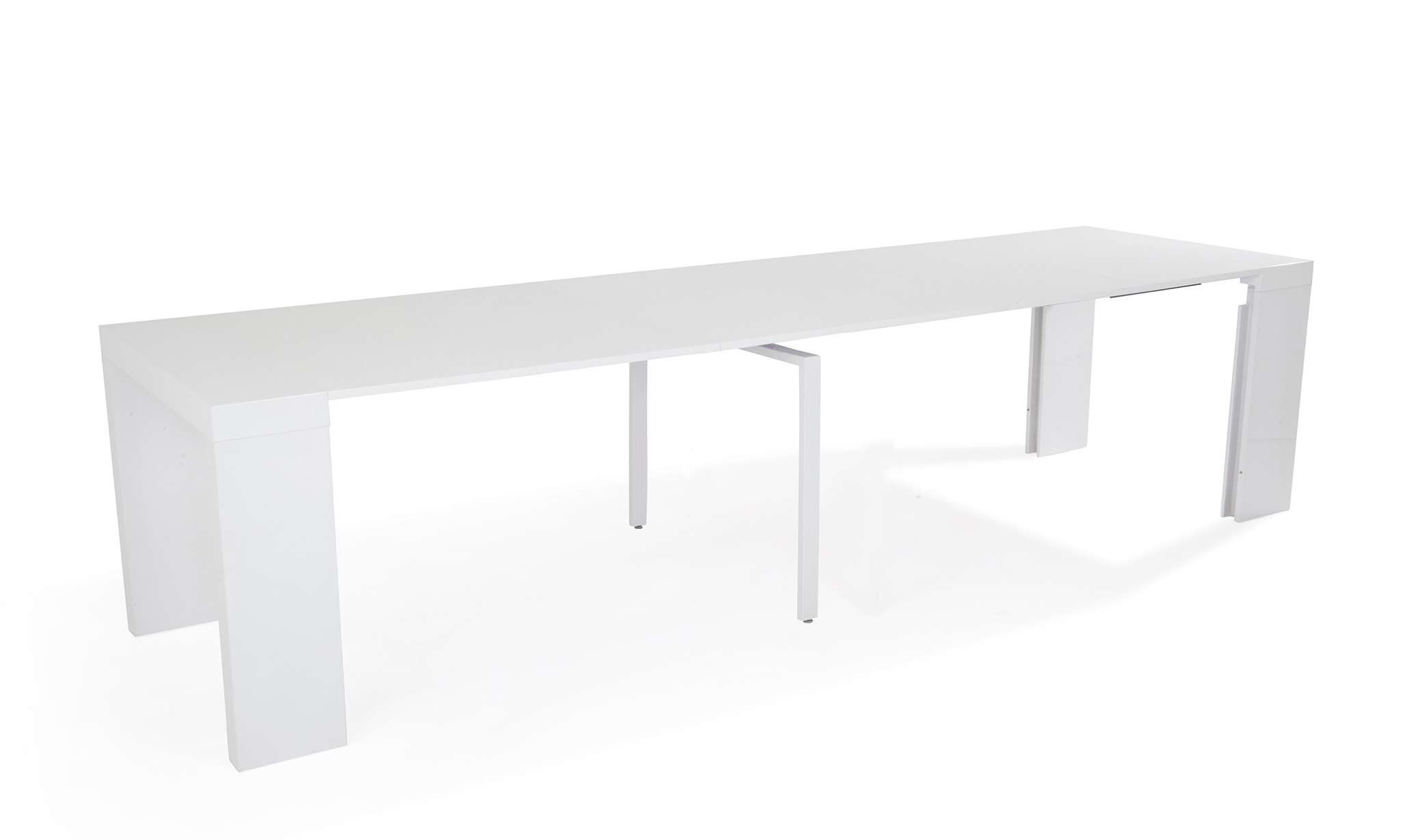 Table console bartolini for Table extensible 16 personnes