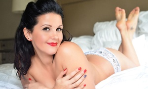 Three Boudoir: $99 for a One-Hour Boudoir Photo Shoot Digital Images at Three Boudoir ($430 Value)