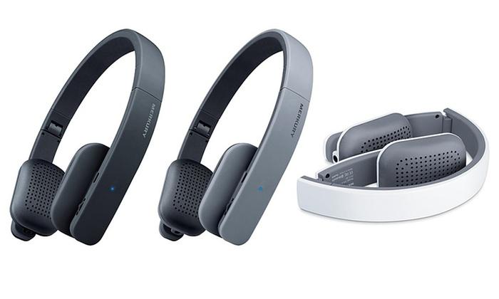 Merkury innovations air stream slim wireless bluetooth headphones fandeluxe Images