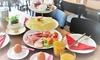 Frühstücks-Etagere + Orangensaft