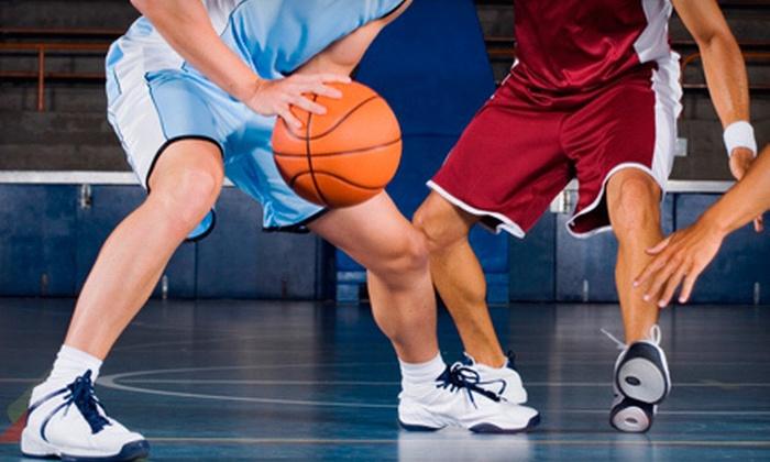 Best Buddies BlueGold All-Star High School Basketball Games - Newark: Best Buddies BlueGold All-Star High School Basketball Games for Two or Four at Bob Carpenter Center (Up to Half Off)