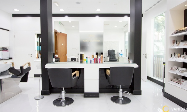 Styling at dessange park hyatt dessange groupon for Dessange hair salon