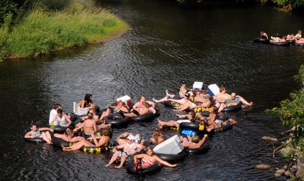 Day of Tubing on the Apple River for Two with Optional Camping at Float Rite Park (Up to 54% Off)
