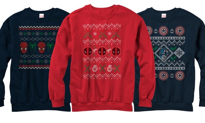 Marvell Ugly Sweater Sweatshirts