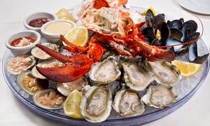 Tony and Joe's Seafood: $65 for a Winter Date Night for Two at Tony and Joe's Seafood ($140 Value)