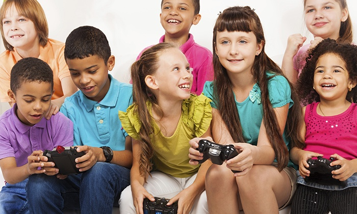 BattleGrounds - Shirley: $199 for a Birthday Party with Video Games and Food for 12 Kids at BattleGrounds ($399Value)