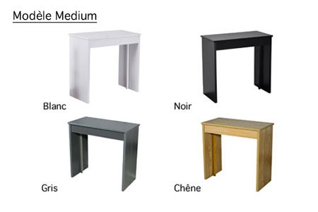 console extensible mod le et coloris au choix groupon. Black Bedroom Furniture Sets. Home Design Ideas