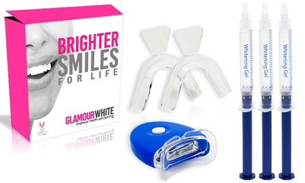 90% Off At-Home Teeth-Whitening Kit with Lifetime Gel Refills