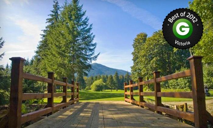 March Meadows Golf Club - Honeymoon Bay: 9- or 18-Hole Round of Golf for Two at March Meadows Golf Club (Up to Half Off)