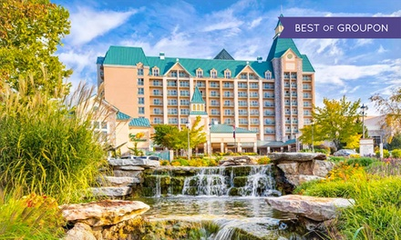 Stay at Chateau on the Lake Resort Spa in Branson, MO, with Dates into March