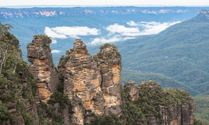 Here To There Coaches: Full-Day Blue Mountains Tour & Scenic World Pass for One ($99) or Two People ($198) (Up to $396 Value)