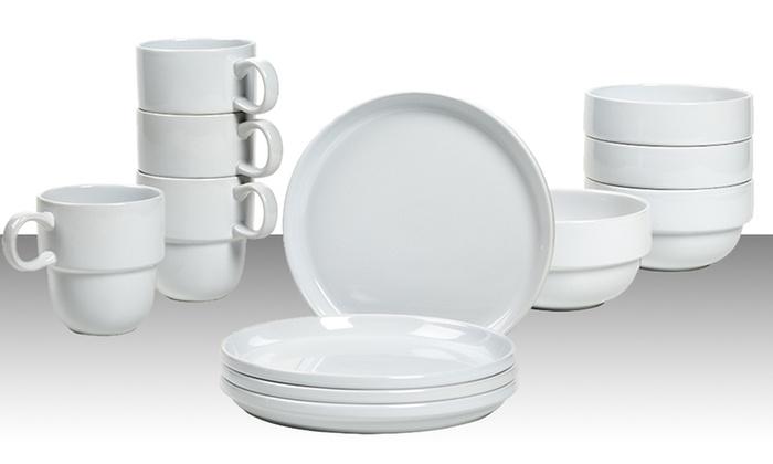 4 Piece Dinnerware Sets Groupon Goods