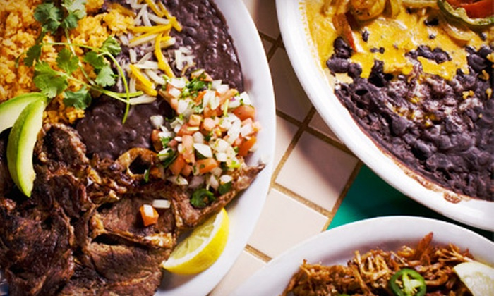 El Zocalo Mexican Steak House - Santa Ana: Mexican Cuisine at El Zocalo Mexican Steakhouse (Up to Half Off). Two Options Available.