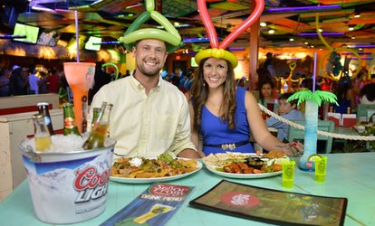 Up to 40% Off Lunch or Dinner Food at Señor Frog's