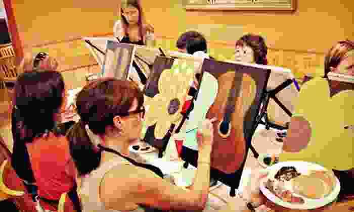 Oklahoma Canvas - Tulsa: Social Painting Class for One, Two, or Four from Oklahoma Canvas (Up to 62% Off)