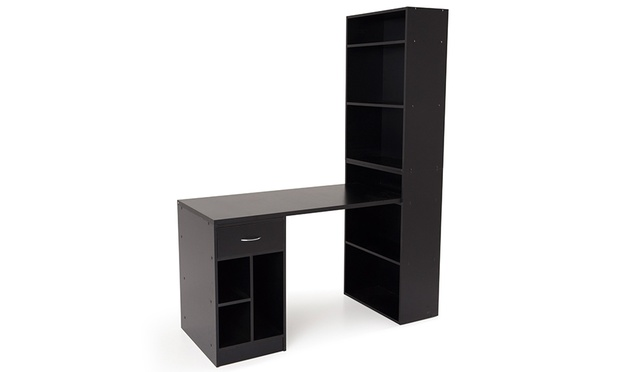 bureau caisson tag re tiroirs groupon shopping. Black Bedroom Furniture Sets. Home Design Ideas