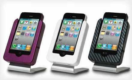 $23.99 for an Infotainment Charger and Stand for iPhone 3G/3GS/4/4S ($66 List Price). 6 Colors...