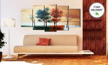 Fabuart.com Single or Multi-Panel Abstract Painting. Multiple Options Available. Free Returns.