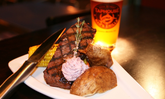11th Street Taphouse Bar & Grille - 11th Street Taphouse Bar & Grille: $25 for $40 Worth of Seafood, Grill Fare, and Non-Alcoholic Drinks at 11th Street Taphouse Bar & Grille