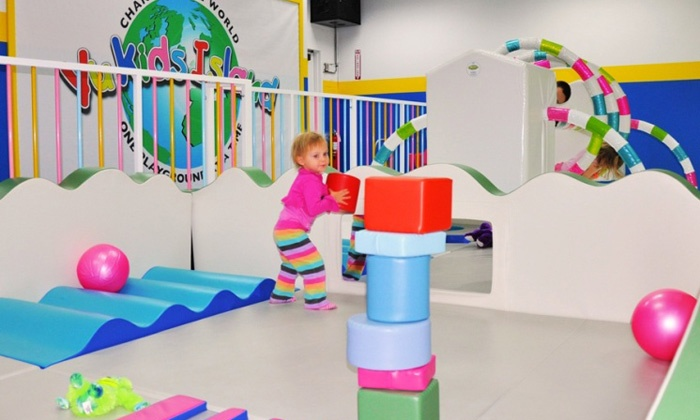 Yu Kids Island - Multiple Locations: 10 or 20 Unlimited-Play Indoor-Playground Visits to Yu Kids Island (Up to 59% Off)