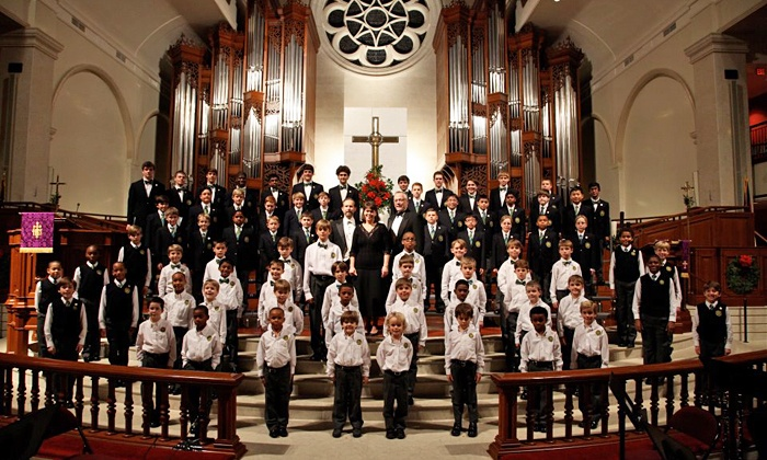 Christmas with the Georgia Boy Choir - Peachtree Road United Methodist Church: Christmas with the Georgia Boy Choir at Peachtree Road United Methodist on December 19 or 20 (Up to 50% Off)