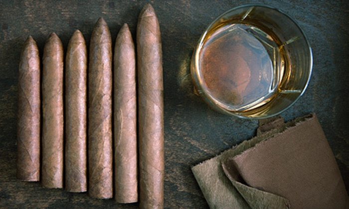 C Lounge & Cigar Bar - Eastern Shores: $50 Worth of Cigars and Beverages