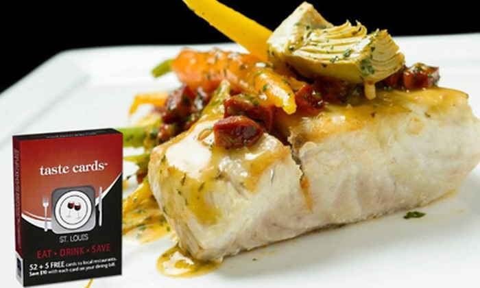 Tasting STL Card: $10 for a Local-Business Gift-Card Pack from Tasting STL Card ($23 Value)