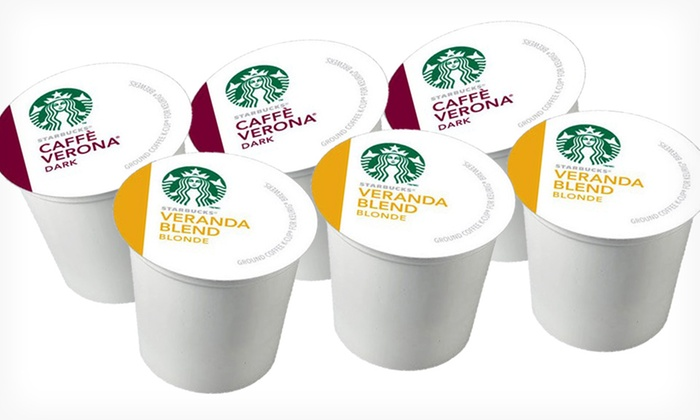 Starbucks Caffè Verona or Veranda Blend K-Cups 24-Pack: $22.99 for a 24-Pack of Starbucks K-Cups in Caffè Verona or Veranda Blend ($24.54 List Price). Free Shipping.