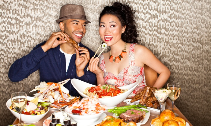 Spice Market Buffet - 3667 Las Vegas Boulevard South: All-You-Can-Eat with Unlimited Drinks for Breakfast, Brunch, Lunch, or Dinner for Two at Spice Market Buffet (Half Off)